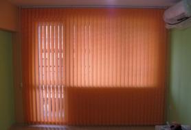 Вертикални щори с текстилни ламели 89 мм.
